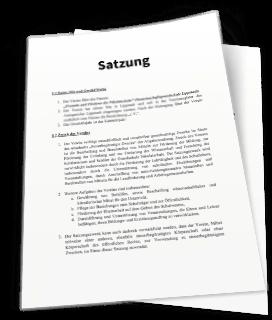 verein vorstand aktuelle 3 musterformulierungen - Muster Vereinssatzung